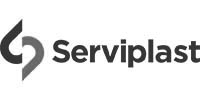 Logo Noir et Blanc Serviplast
